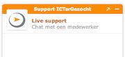 ICTerGezocht biedt nu ook support via chat